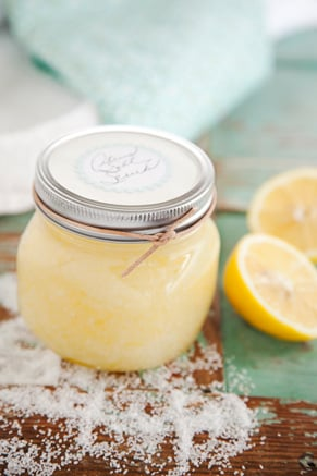 Corrie's Kitchen Spa: Citrus Salt Body Scrub Thumbnail