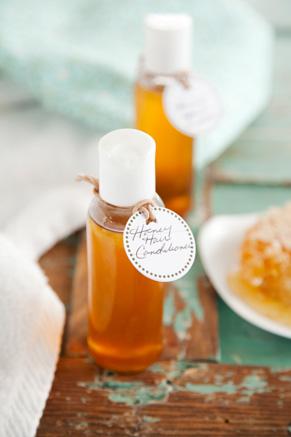 Corrie's Kitchen Spa: Honey Hair Conditioner Recipe