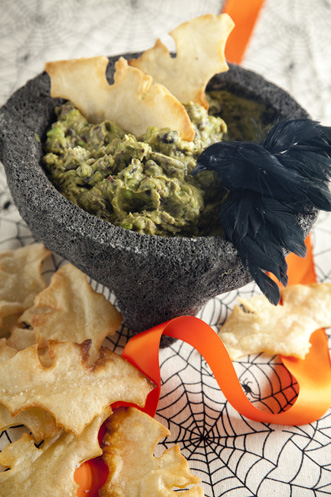 Moldy Guacamole With Creepy Critters Recipe