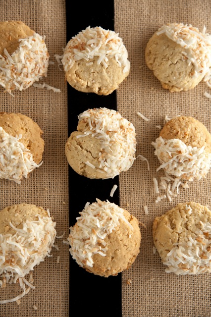 White Chocolate-Coconut Cookies Thumbnail