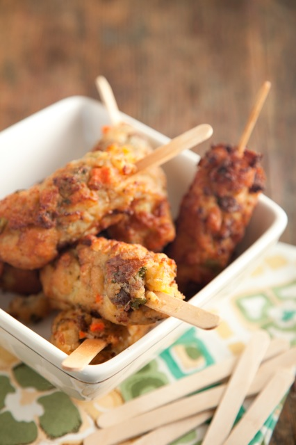 Deep-Fried Stuffing on a Stick Recipe