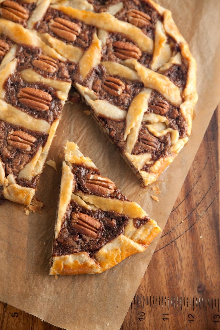 Rustic Chocolate Pecan Tart Recipe
