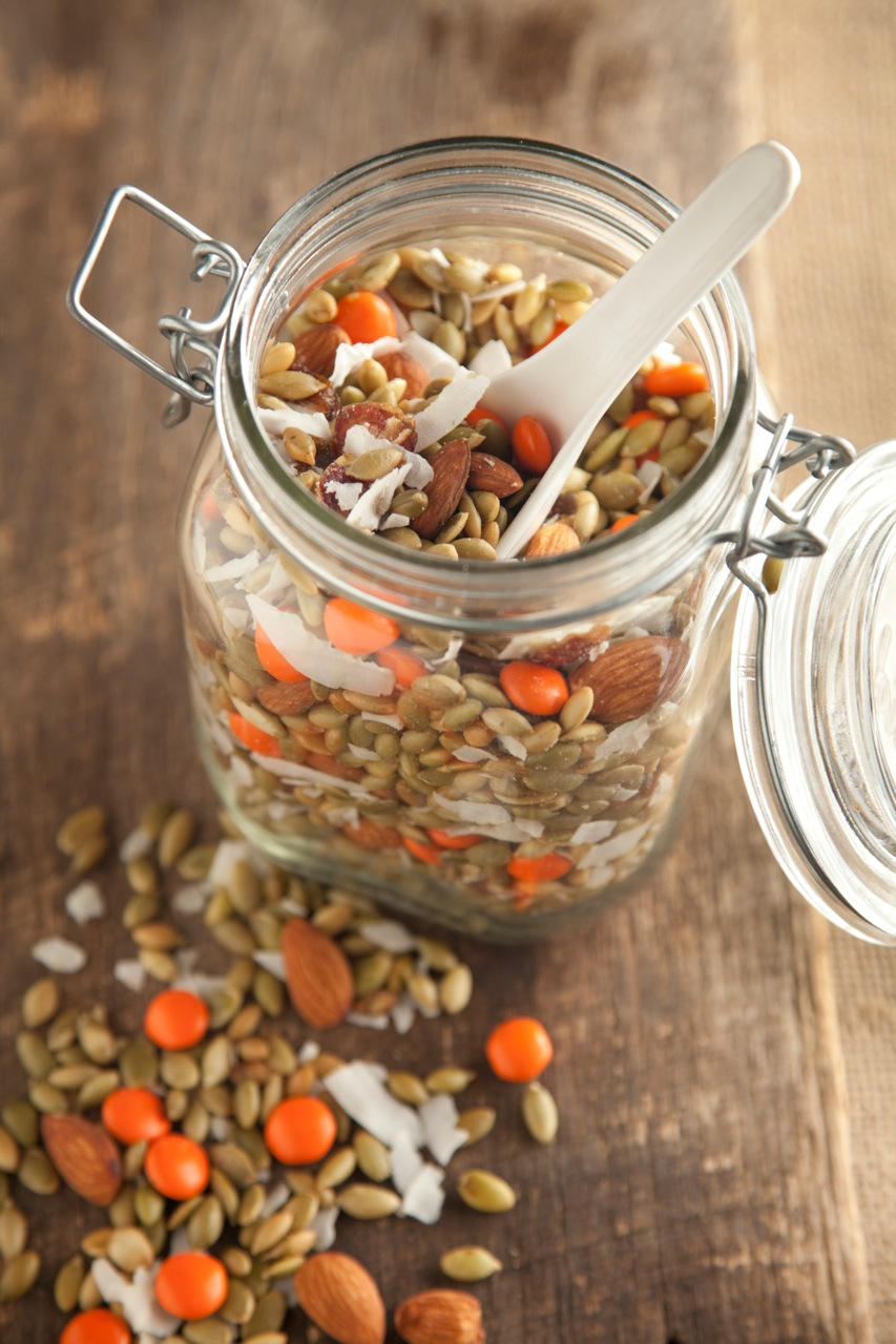 Pumpkin Seed Snack Mix Recipe