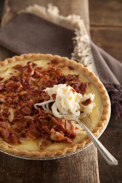 Lighter Vidalia Onion Pie Recipe