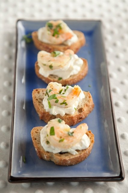 Shrimp Crostini Recipe