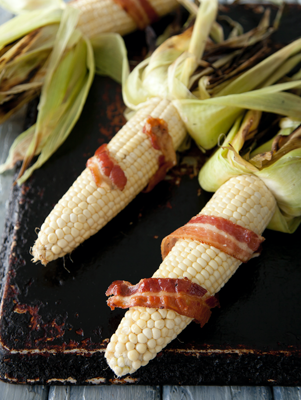 Bacon-Wrapped Corn on the Cob Thumbnail