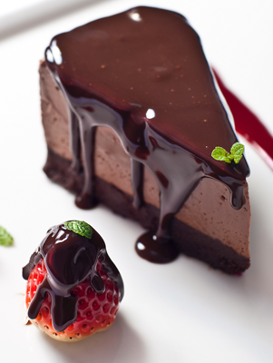 Luscious Chocolate Cheesecake Recipe