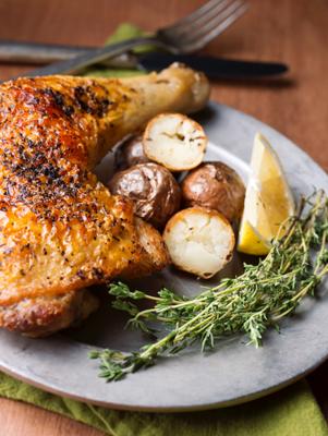 Quick Braised Chicken