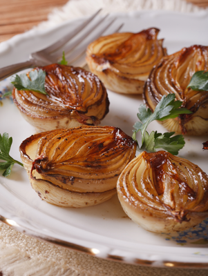 Balsamic Roasted Onions