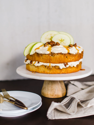 Upside-Down Apple Praline Cake Thumbnail