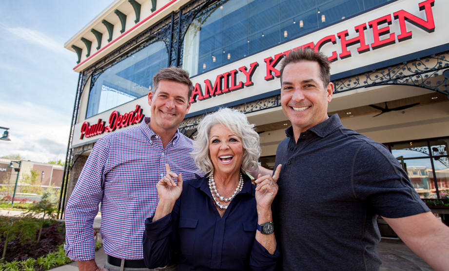 Behind the Scenes: Paula Deen's Family Kitchen Grand Opening