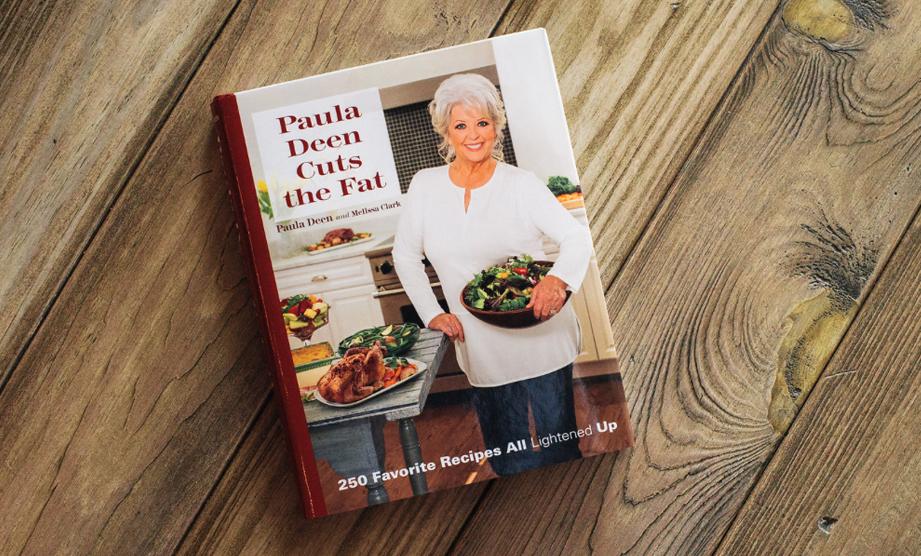 New Cookbook! Paula Deen Cuts the Fat