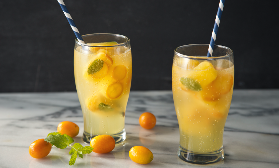 How to Make Citrus Summer Ice Cubes