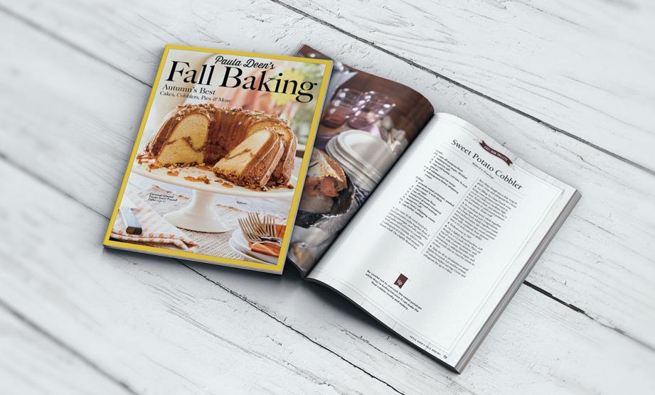 New Magazine: Paula Deen's Fall Baking