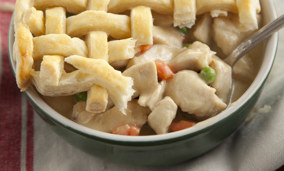 From The Lady & Sons Savannah Country Cookbook: Chicken Pot Pie