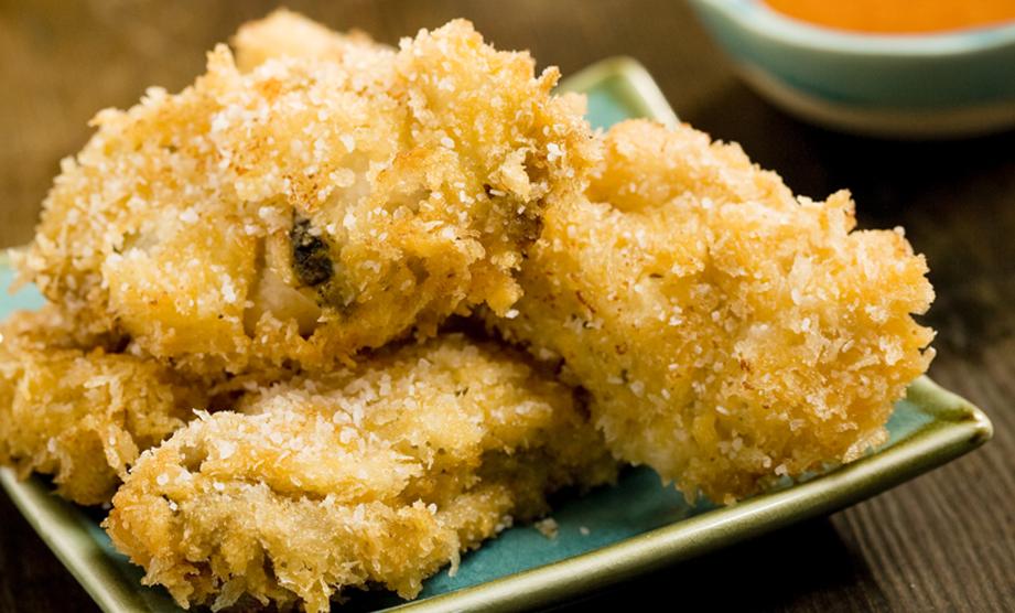 From The Lady & Sons Savannah Country Cookbook: Southern Fried Oysters with Spicy Dipping Sauce