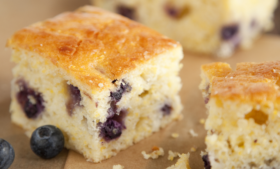 From The Lady & Sons Savannah Country Cookbook: Sweet Blueberry Cornbread
