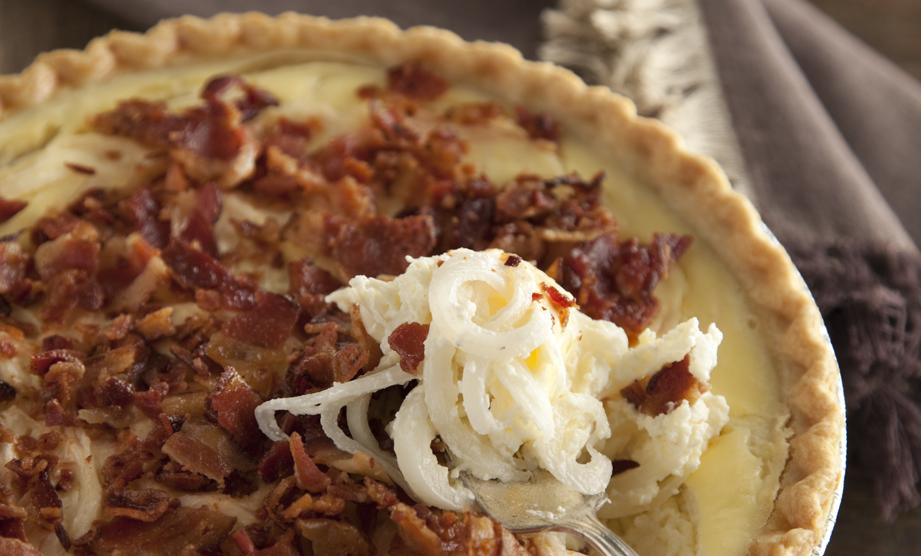From The Lady & Sons Savannah Country Cookbook: Vidalia Onion Pie