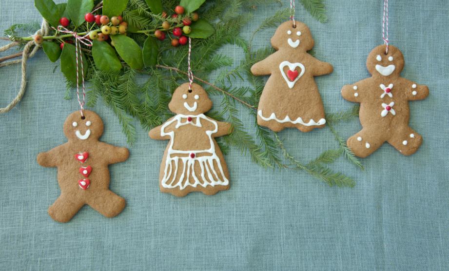 Gingerbread Hanging Ornaments