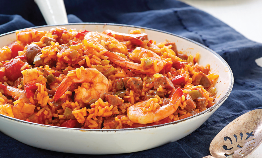 Paula Deen Cuts the Fat, 250 Favorite Recipes All Lightened Up, Exclusive: Jambalaya