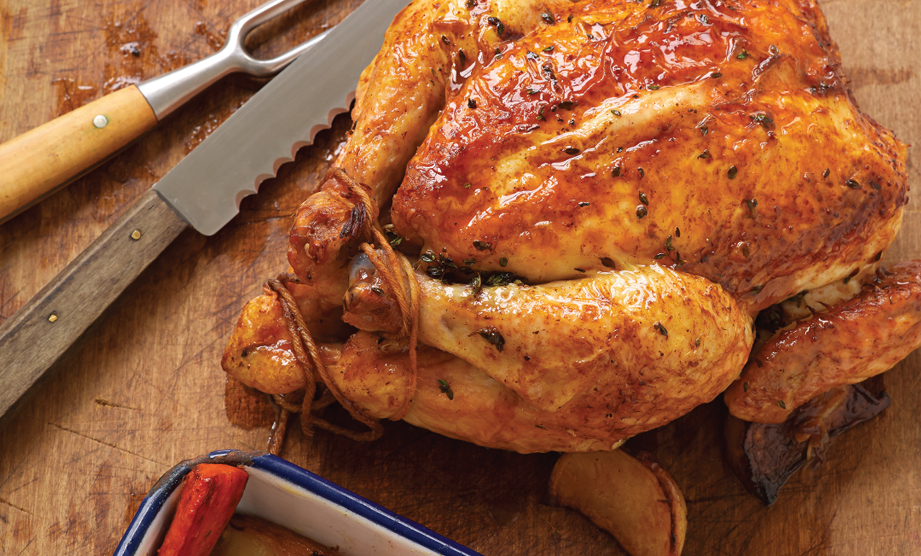 Paula Deen Cuts the Fat, 250 Favorite Recipes All Lightened Up, Exclusive: Roast Chicken Sunday Supper