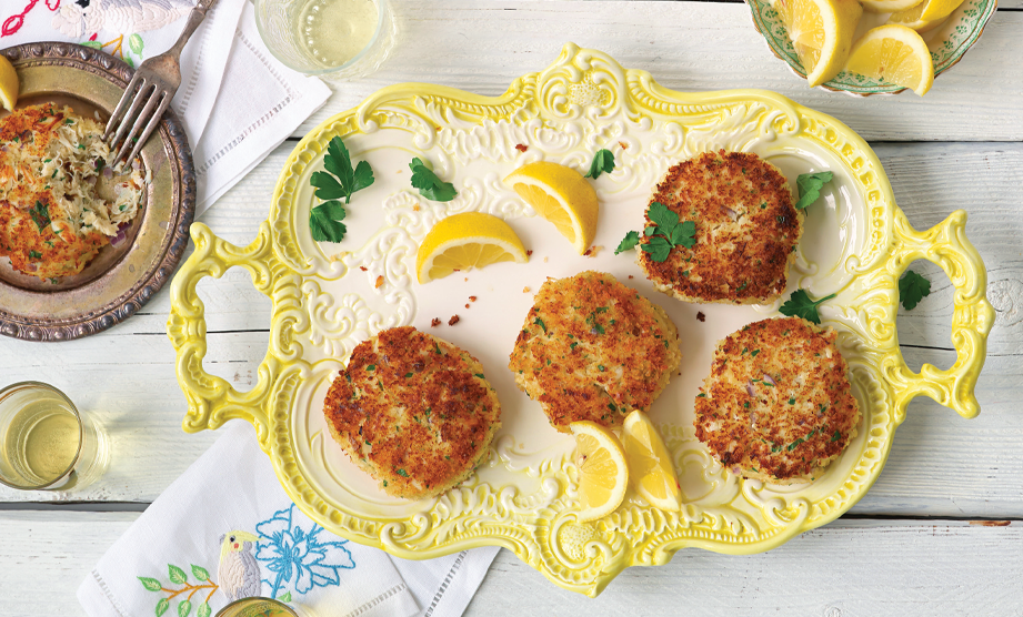 Paula Deen Cuts the Fat, 250 Favorite Recipes All Lightened Up, Exclusive: Savannah Crab Cakes