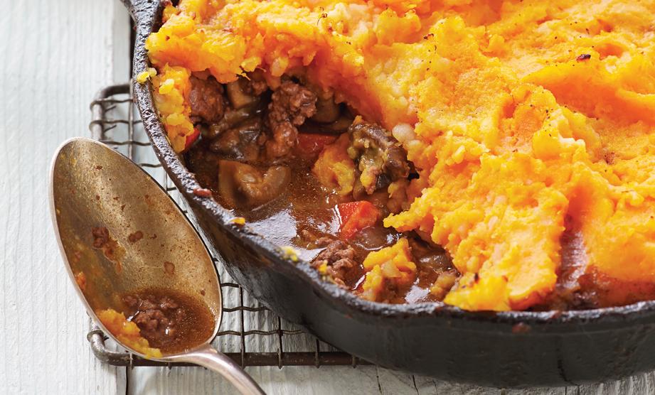 Paula Deen Cuts the Fat, 250 Favorite Recipes All Lightened Up, Exclusive: Skillet Shepherd's Pie