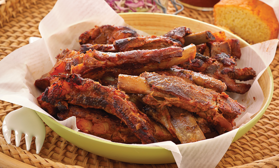 Paula Deen Cuts the Fat, 250 Favorite Recipes All Lightened Up, Exclusive: Memphis Dry Rub Ribs