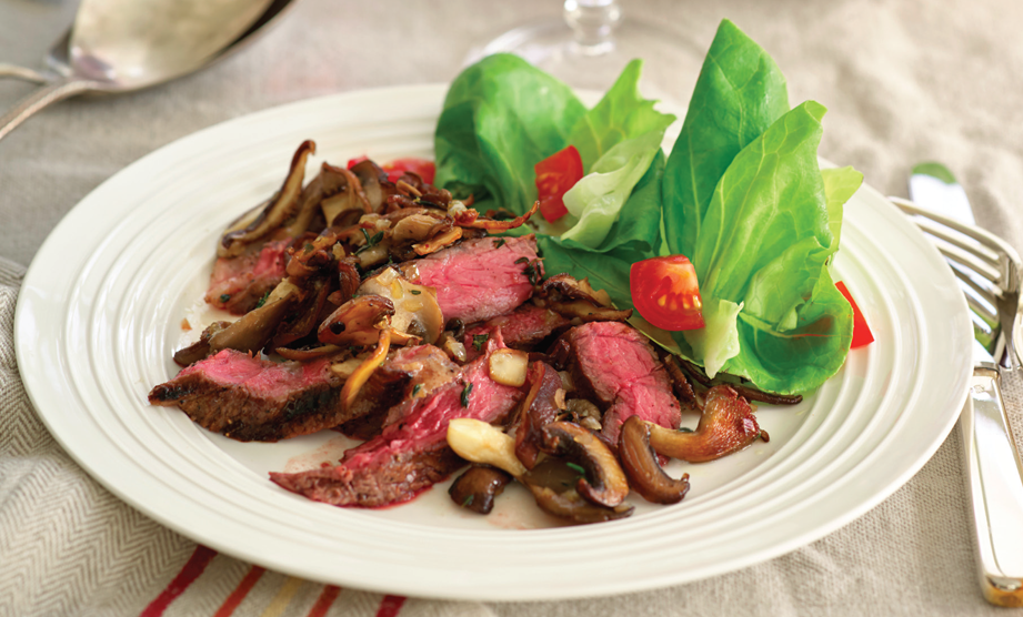 Paula Deen Cuts the Fat, 250 Favorite Recipes All Lightened Up, Exclusive: Cowboy Rib Eyes
