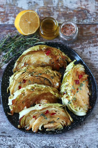 Barbecued Cabbage Recipe