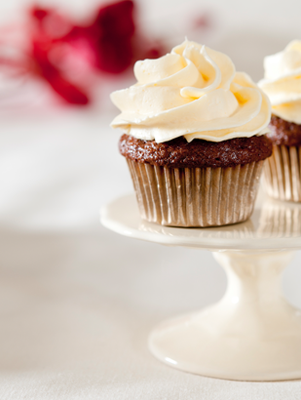 Chocolate Cupcakes With Coffee Cream Filling