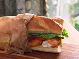 Buffalo Chicken Po Boys Recipe