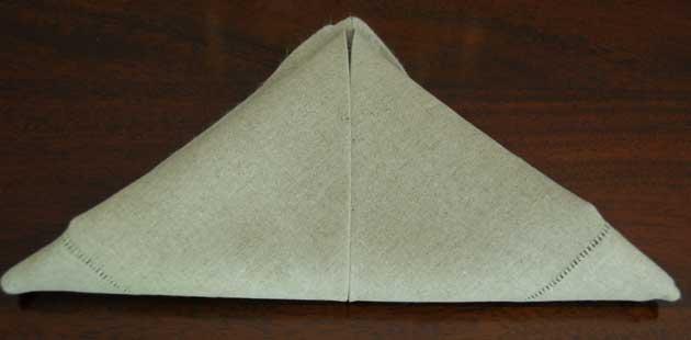 How to Fold Napkin Example 4