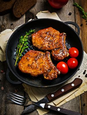 Maple-Glazed Pork Chops Thumbnail