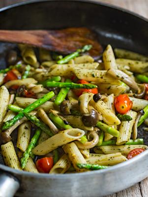 Portobello and Asparagus Salad Recipe