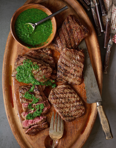Chimichurri Steaks Thumbnail