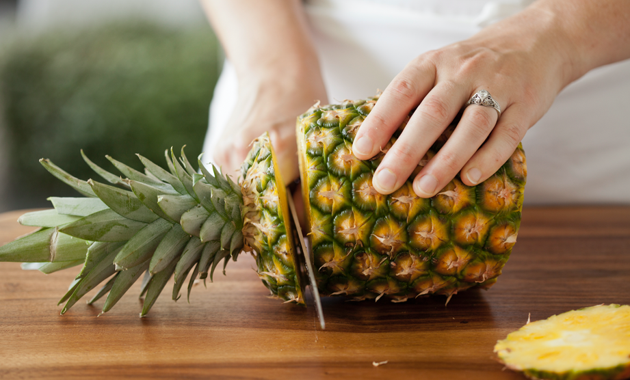 How-To: Prep a Pineapple