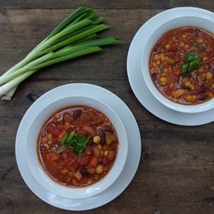Garden Fresh with Claudia Deen: Vegan Chili