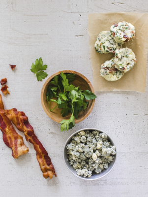 Blue Cheese Bacon Butter