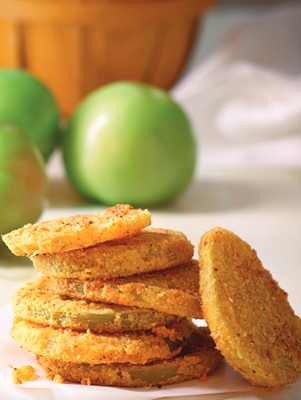 Oven-Fried Green Tomatoes Thumbnail