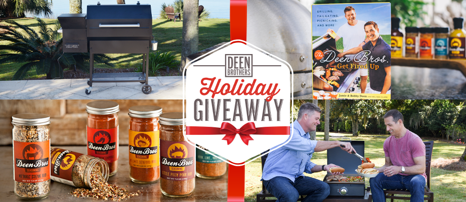 Deen Brothers Holiday Giveaway December 2019