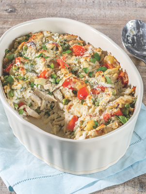 Cheesy Chicken & Rice Casserole Thumbnail