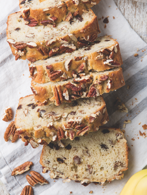 Loaded Banana Bread