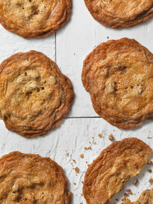 Paula's Thin & Crispy Chocolate Chip Cookies Thumbnail