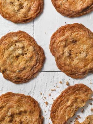 Paula's Thin Crispy Chocolate Chip Cookies