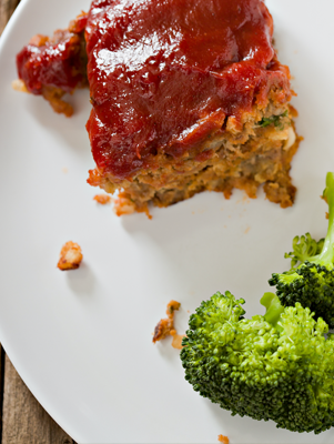 Brooke's Meatloaf with Sun-Dried Tomatoes and Fresh Mozzarella