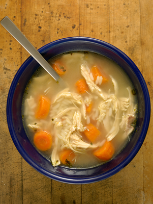 Super-Simple Lemon Chicken and Rice Soup Thumbnail