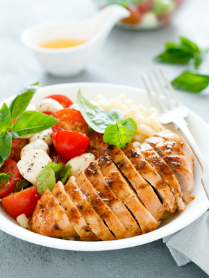 Basil Grilled Chicken Thumbnail