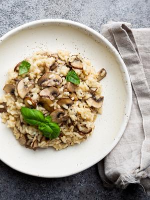 Mixed Mushroom Rice Recipe