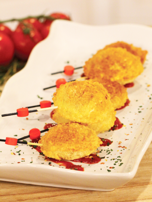 Air Fryer Fried Ravioli on a Stick Thumbnail